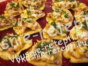 Куриный салат - Каноэ