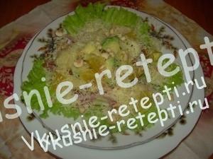 Салат с авокадо - Джульетта