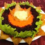 Салат с ветчиной «корона»