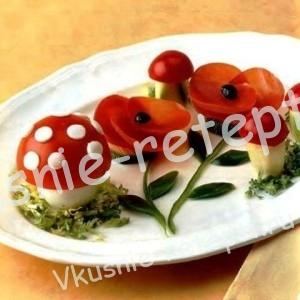 Карвинг из овощей, фото