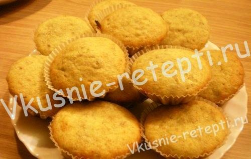 Кексы в формочках, фото