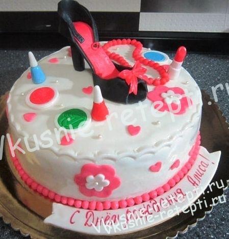 Торт на день рождения своими руками рецепты