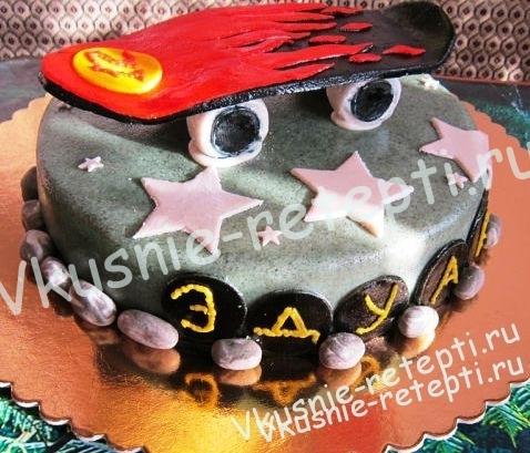 Торт на день рожденье ребенка 27