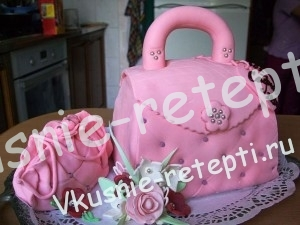 вишневый торт на день рождение девушки, фото