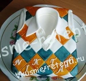 детский торт для мальчика