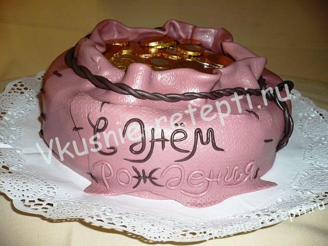 клубничный торт на день рождение со сливками