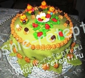 Медовый торт со сгущенкой Идеал