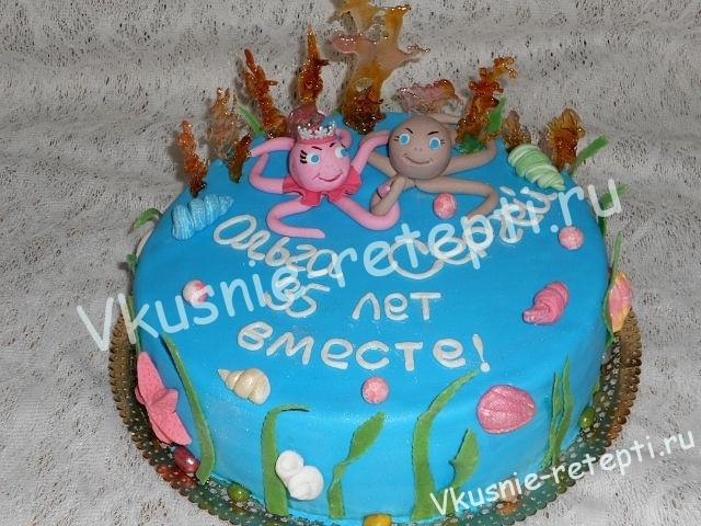 Украсить торт своими руками - Вкусные рецепты