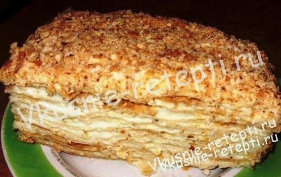 мастер класс рецепты классического торта наполеон