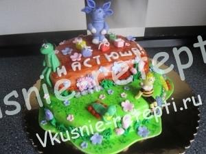 торт Лунтик, фото
