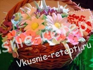 Красивый торт на 8 марта монастырская изба,фото