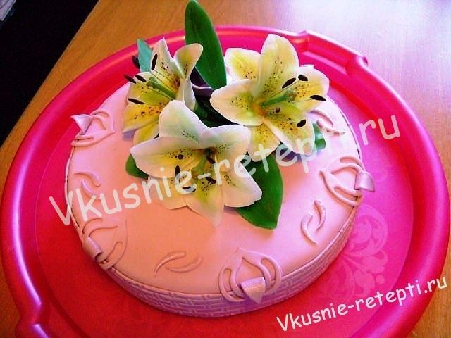 Торт трюфель на 8 марта