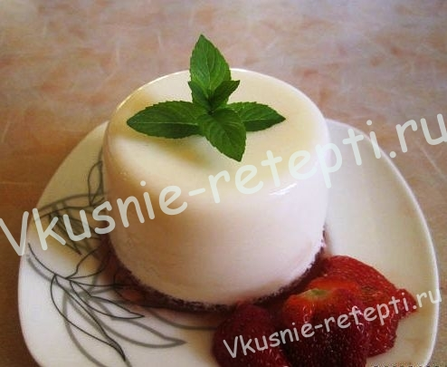 Десерт Пана кота, фото