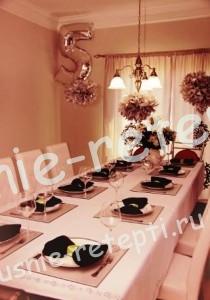Сервировка стола на день рожденье, фото