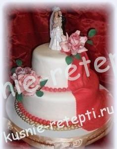 свадебный торт Прага