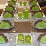 Сервировка праздничного стола, фото