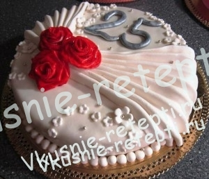 торт свадебный с маком