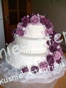 Красивый свадебный торт Каприз, фото