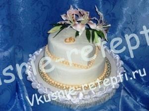 Красивый свадебный торт сказка, фото