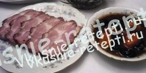 вкусная свинина, запеченная свинина