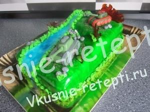 торт на 23 февраля, фото