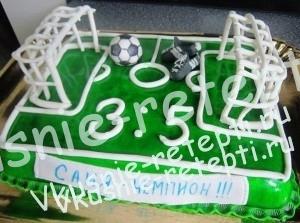 торт футбольный, Интересные торты