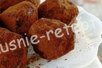 Шоколадные трюфели домашние, foto