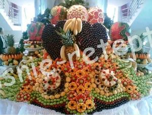 украшения из фруктов