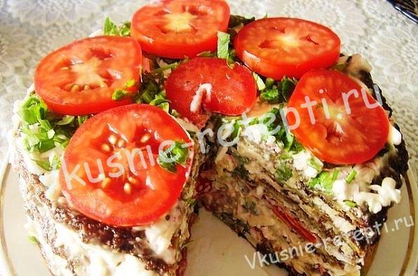 блюдо из кабачков, фото