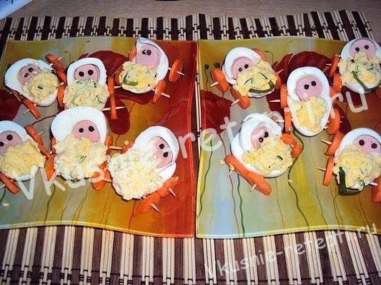Веселый завтрак для детей фото