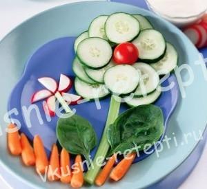 полезная еда детям