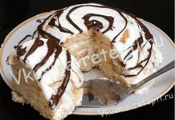 домашний торт, фото
