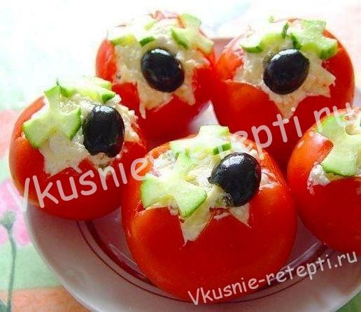 помидоры фаршированные,фото