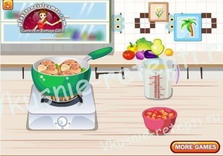 Кулинарная игра - Как приготовить Оссо Буко