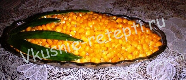 салат с кукурузой, фото