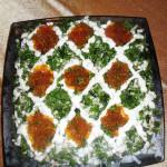 салат с морепродуктами, фото