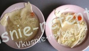 Смешное оформление детского супа, фото