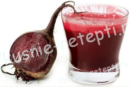 свекольный сок, фото
