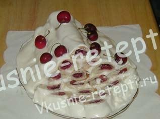 торт с вишней рецепт, фото