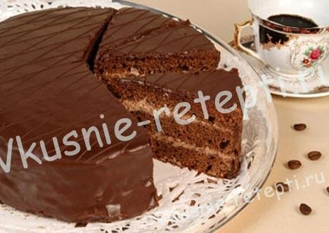 торт Прага, фото