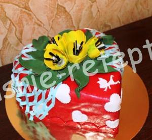праздничный торт, фото