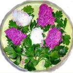 салат Сирень, фото
