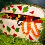 салат из морепродуктов,фото
