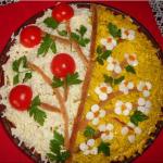 салат из печени, фото