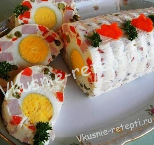 салат на день рождения, фото
