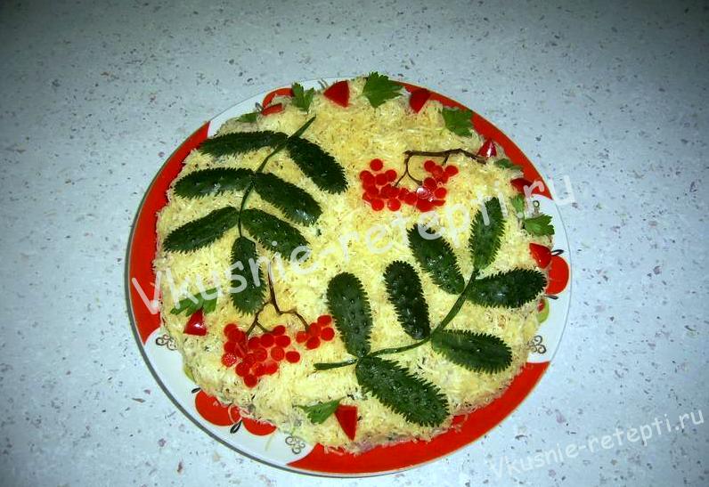 салат с помидорами, фото