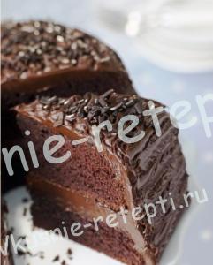 шоколадный торт, рецепт c фото