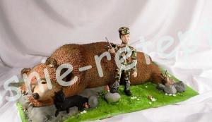 торт медведь, фото