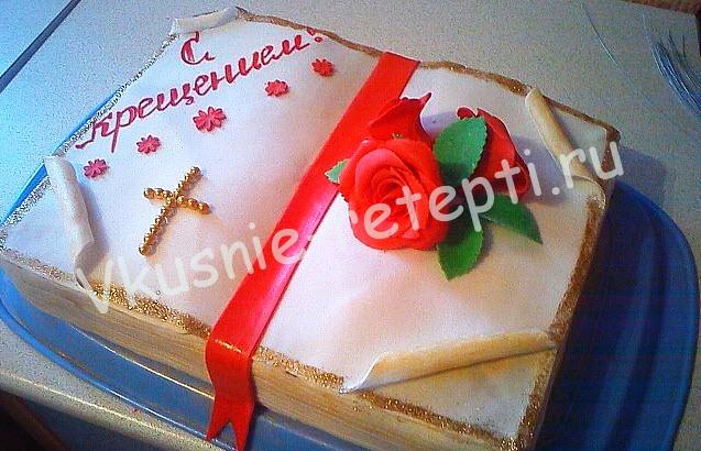 торт на крестины для девочек, фото