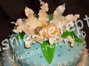 торт на крестины, фото